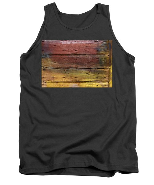 Shades Of Red And Yellow Tank Top by Ron Harpham
