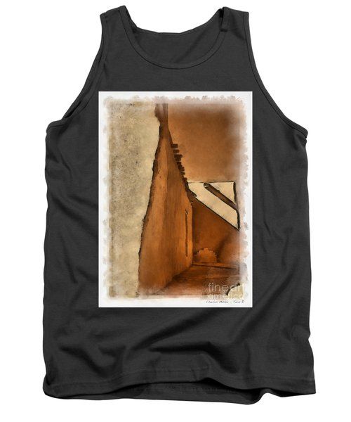 Shadows In Aquarell   Tank Top