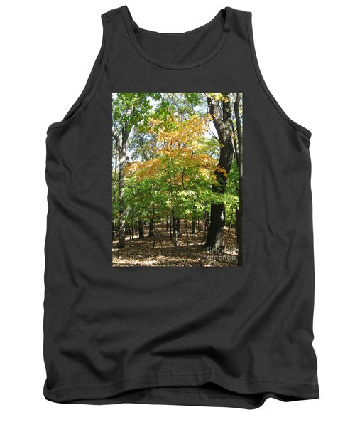 Shadows In The Forest Tank Top