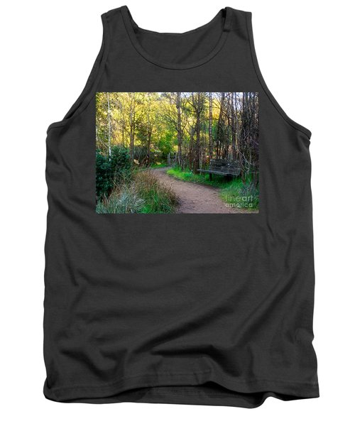 Tank Top featuring the photograph Shady Dell by Kate Brown