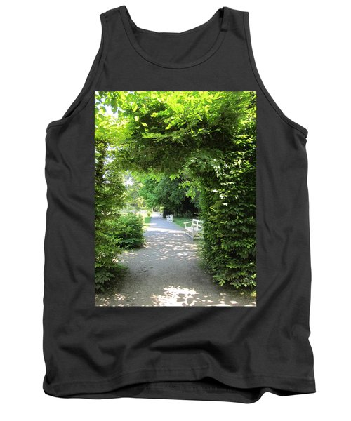 Tank Top featuring the photograph Shady Retreat by Pema Hou