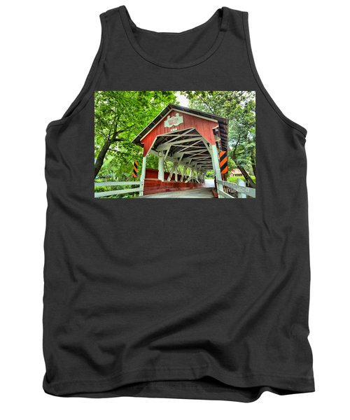 Shafer Covered Bridge Tank Top