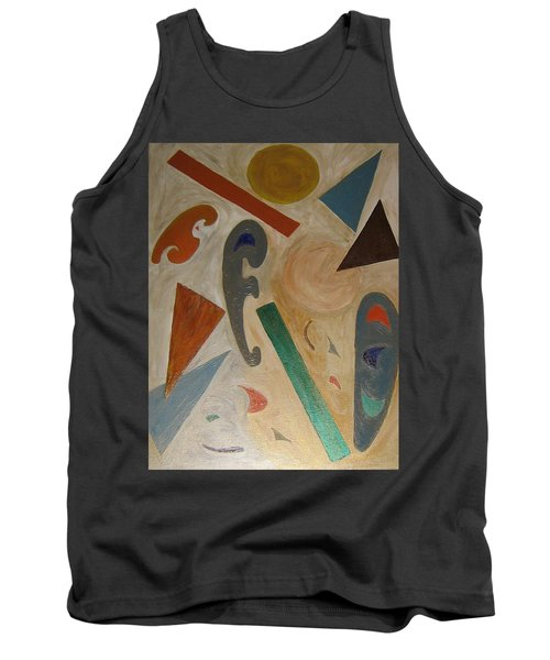 Shapes Tank Top by Barbara Yearty