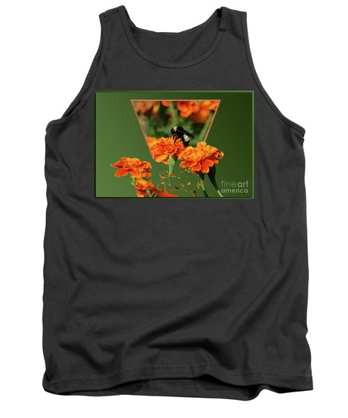 Tank Top featuring the photograph Sharing The Nectar Of Life by Thomas Woolworth