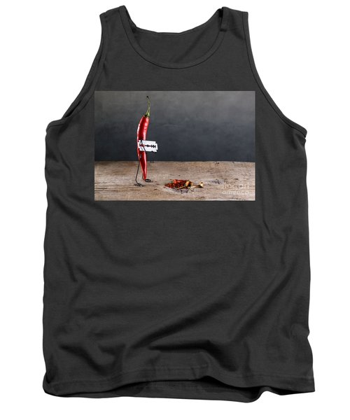 Sharp Chili Tank Top