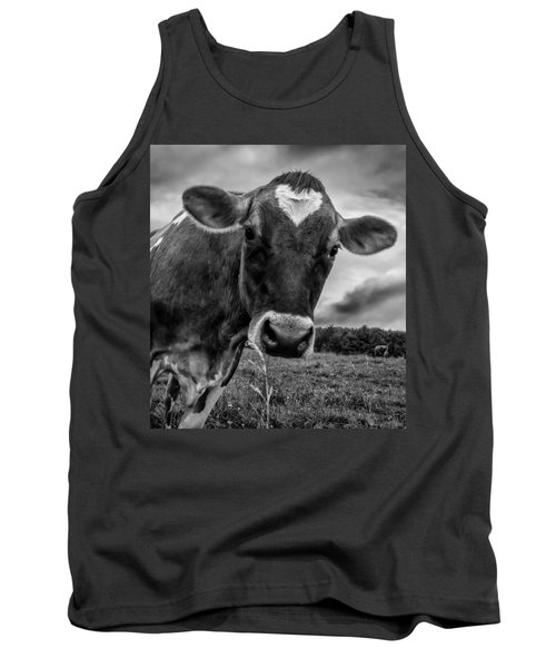 She Wears Her Heart For All To See Tank Top by Bob Orsillo