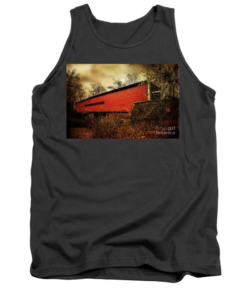 Sheeder Hall Covered Bridge 2 Tank Top