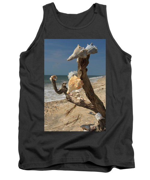 Shell Art Tank Top