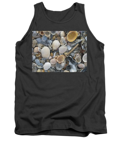 Shell Mosaic Tank Top