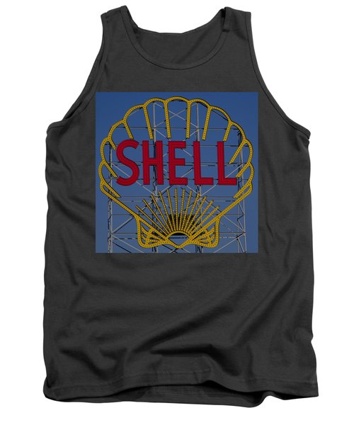 Shell Sign Cambridgeside Tank Top