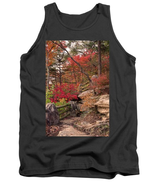 Shifting Colors Tank Top by David Troxel