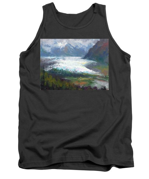 Shifting Light - Matanuska Glacier Tank Top