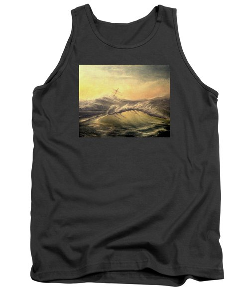 Shivering Beauty Of Storm Tank Top by Mikhail Savchenko