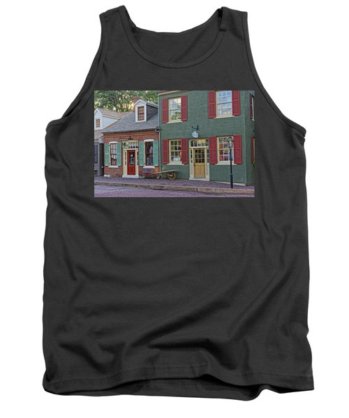 Shops S Main St Charles Mo Dsc00886  Tank Top by Greg Kluempers