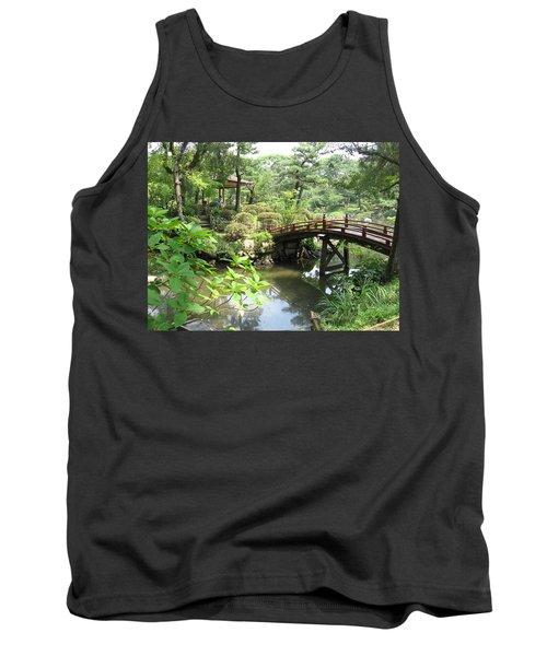 Shukkeien Bridge Tank Top