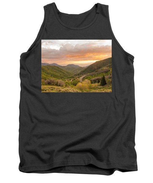 Silence Is Golden Tank Top