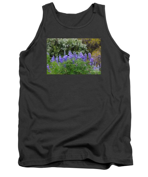 Tank Top featuring the photograph Silvery Lupine Black Canyon Colorado by Janice Rae Pariza