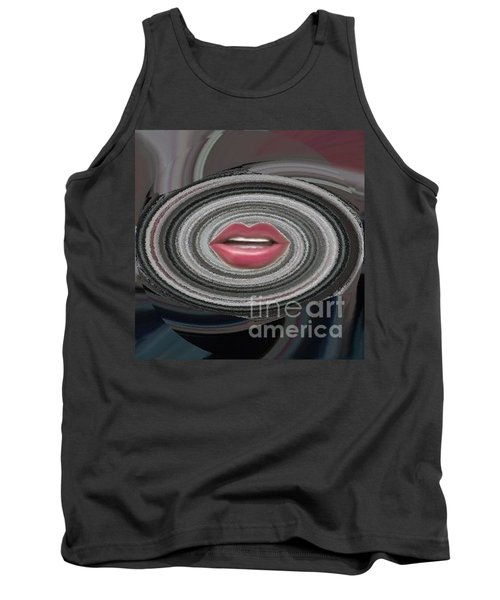 Tank Top featuring the digital art Sing by Catherine Lott