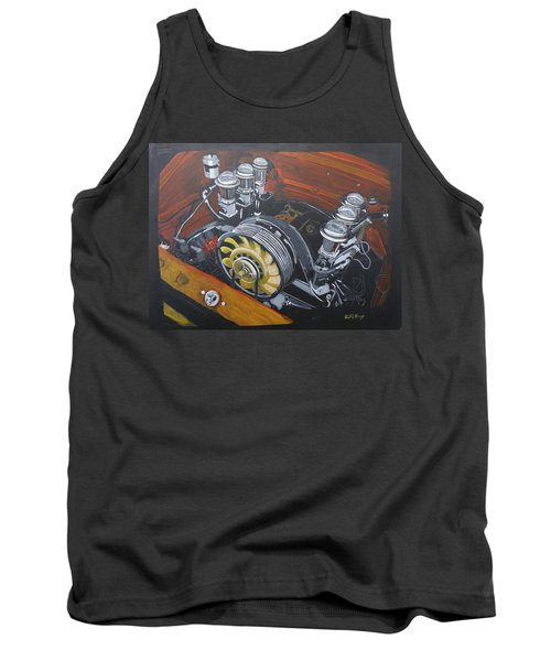 Singer Porsche Engine Tank Top