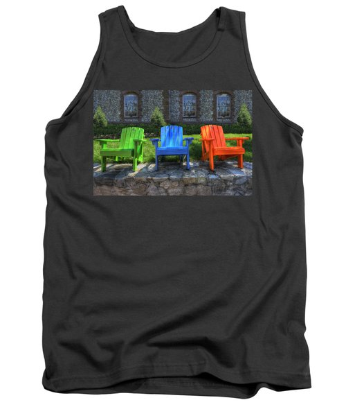 Sit Back Tank Top