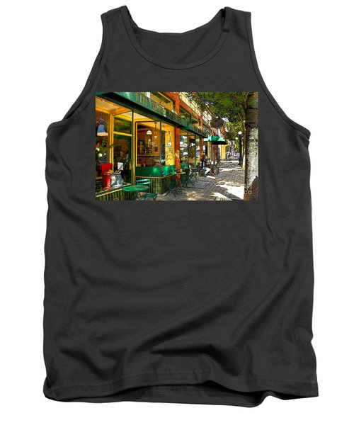 Sitting At The Bakery Tank Top