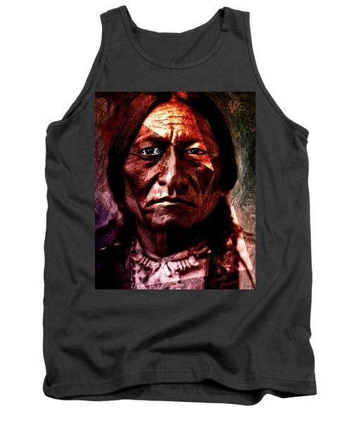 Sitting Bull - Warrior - Medicine Man Tank Top