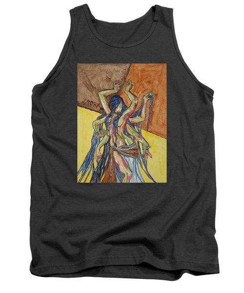 Six Armed Goddess Tank Top by Stormm Bradshaw
