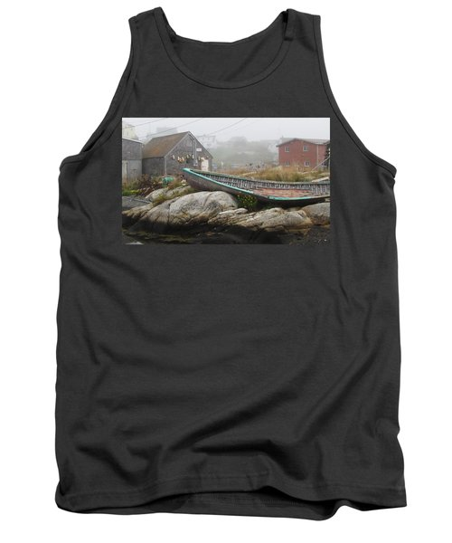 Tank Top featuring the photograph Skeleton Ashore by Jennifer Wheatley Wolf