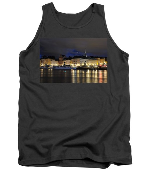 Skeppsbron At Night Tank Top