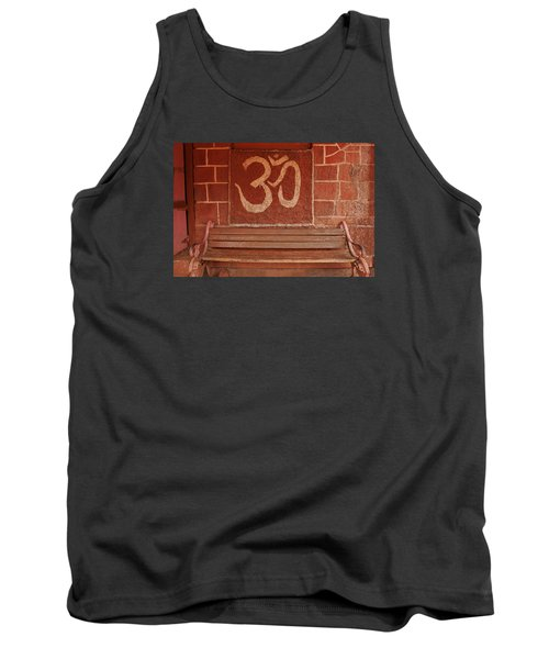 Tank Top featuring the photograph Skc 0316 Welcome The Gods by Sunil Kapadia