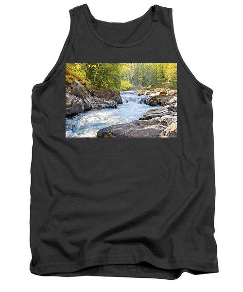 Skutz Falls At Cowichan River Provincial Park Tank Top