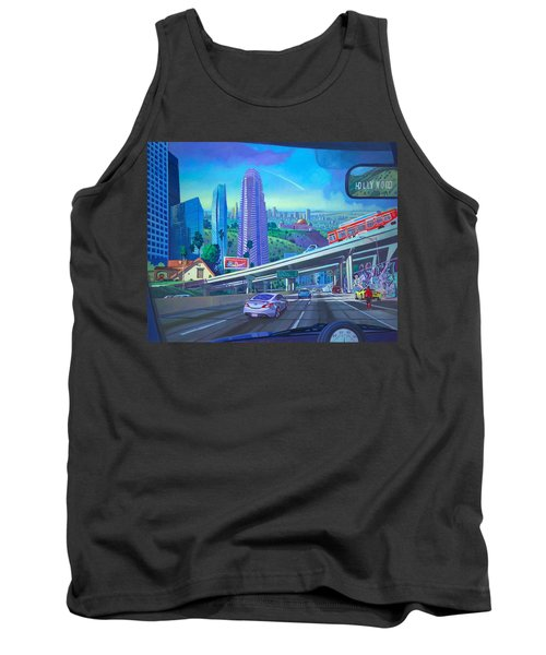 Skyfall Double Vision Tank Top by Art James West