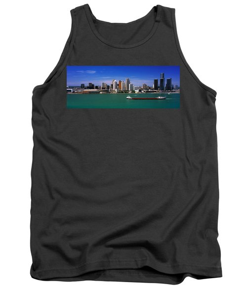 Skylines At The Waterfront, River Tank Top