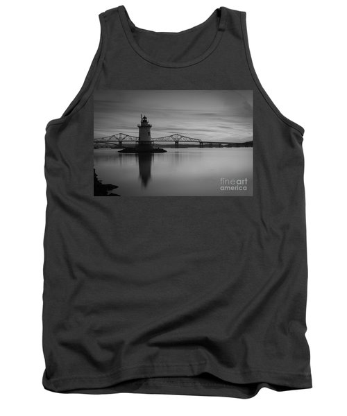 Sleepy Hollow Lighthouse Bw Tank Top