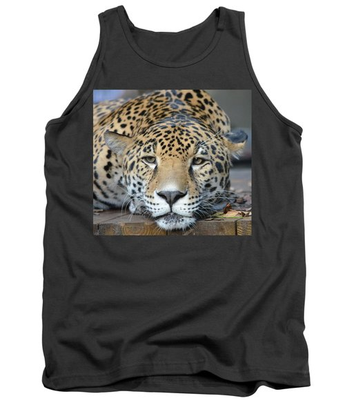 Sleepy Jaguar Tank Top