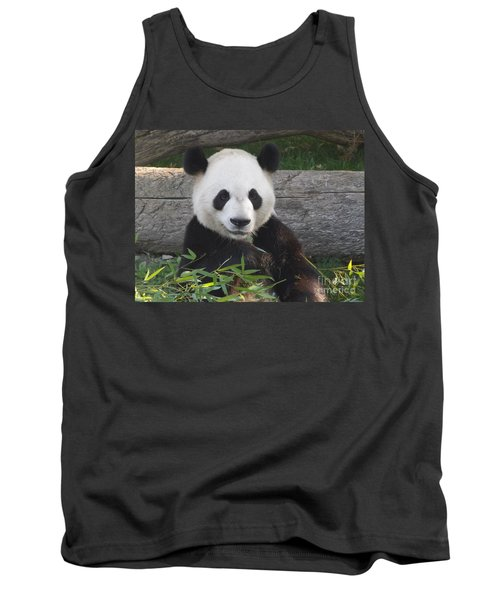 Smiling Giant Panda Tank Top