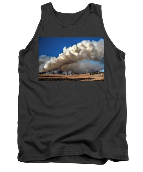 Smoke Column From The Norbeck Prescribed Fire. Tank Top