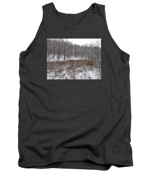 Snow Covered Woodland Tank Top