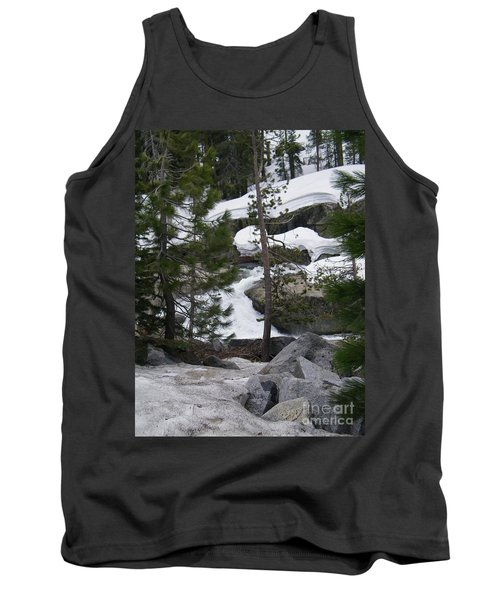 Tank Top featuring the photograph Snowy Sierras by Bobbee Rickard