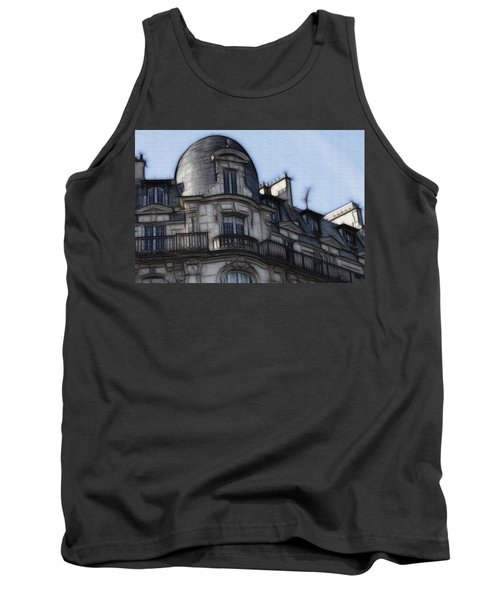 Softer Side Of Paris Architecture Tank Top
