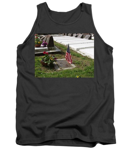 Soldiers Final Resting Place Tank Top