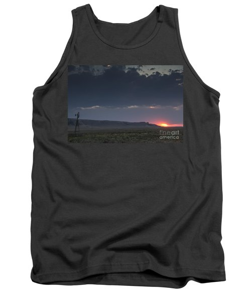 A Sunset Somewhere In Wyoming Tank Top