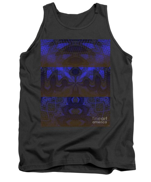 Tank Top featuring the painting Sonic Temple by Roz Abellera Art