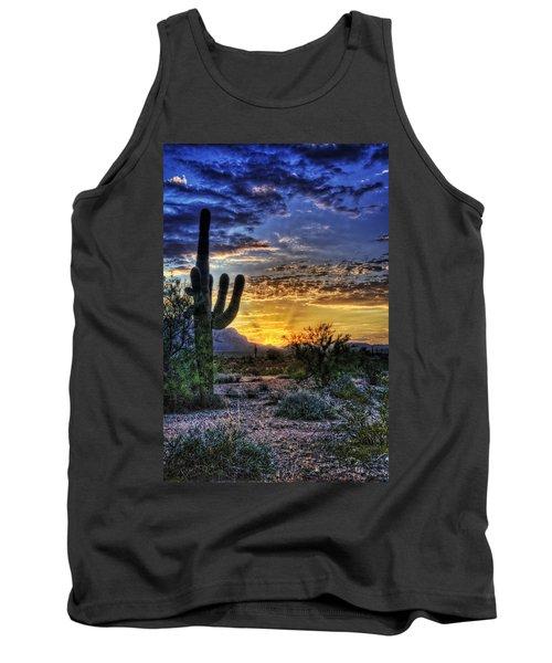 Sonoran Sunrise  Tank Top by Saija  Lehtonen