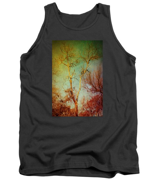 Souls Of Trees Tank Top by Trish Mistric