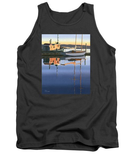 South Harbour Reflections Tank Top by Gary Giacomelli