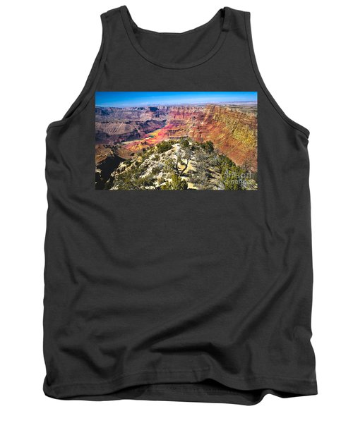 South Rim From The Butte Tank Top by Robert Bales