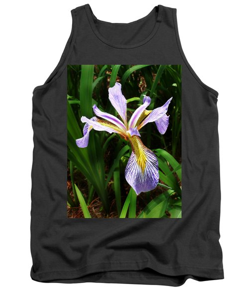 Southern Blue Flag Iris Tank Top
