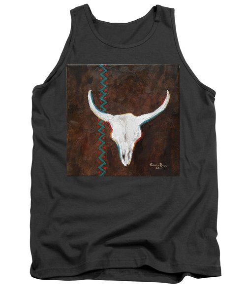 Southwestern Influence Tank Top by Judith Rhue