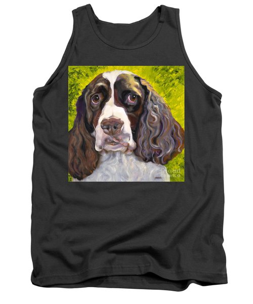 Spaniel The Eyes Have It Tank Top